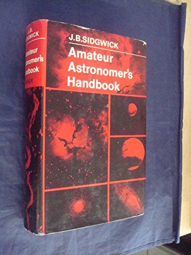 9780571047482: Amateur Astronomer's Handbook