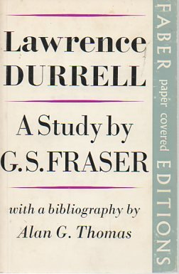 9780571047901: Lawrence Durrell: A Study