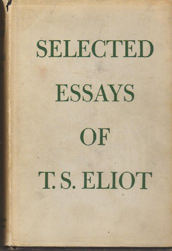 9780571047925: Selected Essays