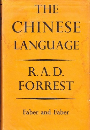 Chinese Language (Great Languages): Forrest, Robert