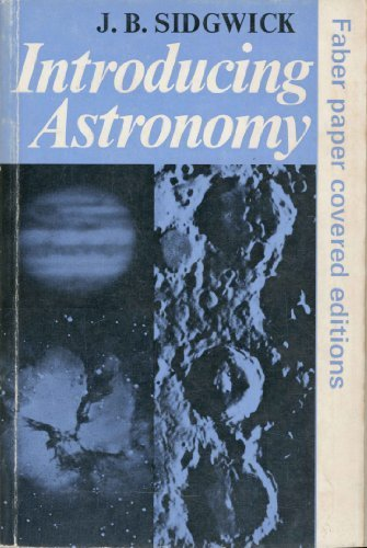 9780571048236: Introducing Astronomy (Faber paper covered editions)