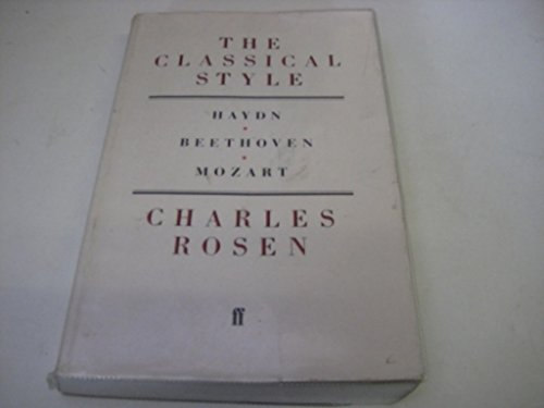 9780571049059: Classical Style (New Edition with CD) (Faber paperbacks)