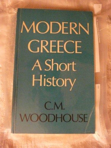 9780571049363: Modern Greece: A Short History