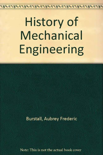 9780571053438: History of Mechanical Engineering