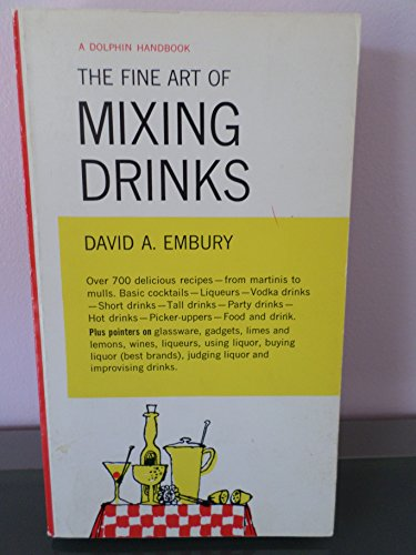 9780571054121: Fine Art of Mixing Drinks