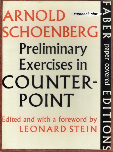 9780571054640: Preliminary Exercises in Counterpoint