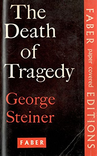 9780571056583: The Death of Tragedy