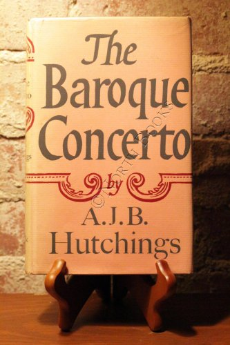 9780571057283: The Baroque Concerto