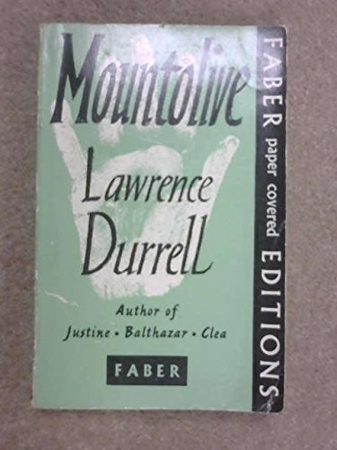 Mountolive: Durrell, Lawrence