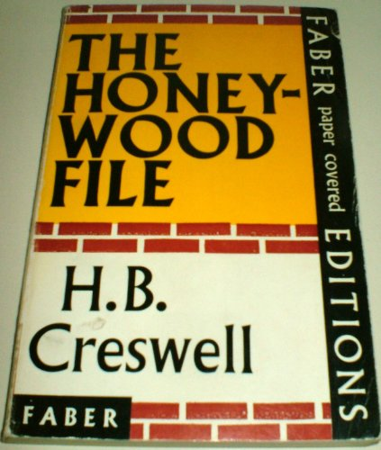 9780571058297: Honeywood File
