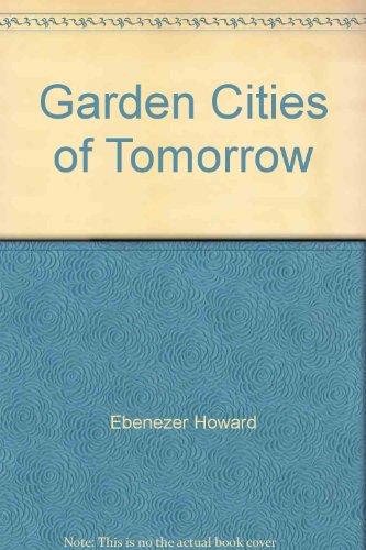 9780571061891: Garden Cities of Tomorrow