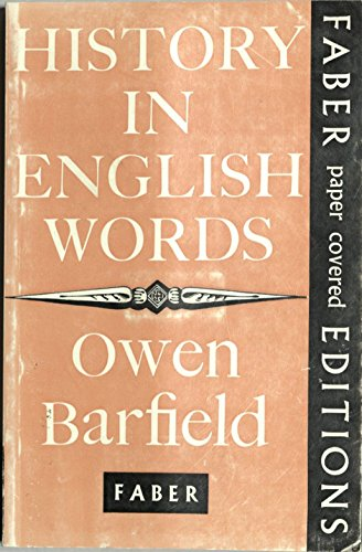 9780571062836: History in English Words