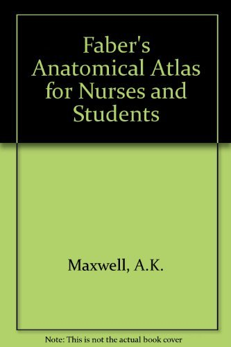 9780571064618: Faber's Anatomical Atlas for Nurses and Students