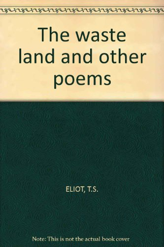 9780571066155: The waste land and other poems