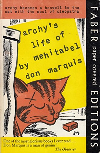9780571066162: Archy'S Life of Mehitabel