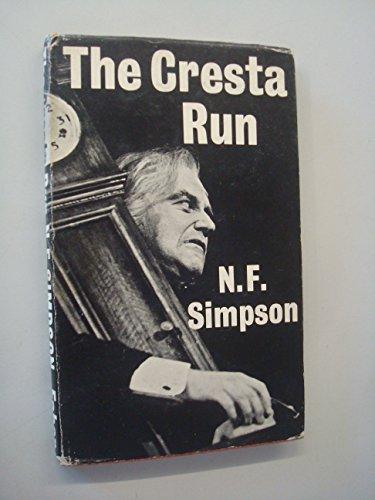 9780571066506: Cresta Run
