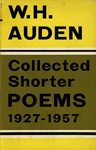 9780571068784: Collected Shorter Poems 1927-1957