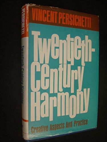 9780571069736: Twentieth Century Harmony