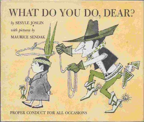 9780571069996: What Do You Do, Dear?