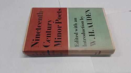 9780571080960: Nineteenth-century minor poets