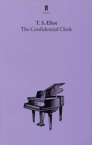 9780571081622: The Confidential Clerk