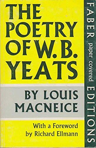 9780571081714: Poetry of W.B. Yeats