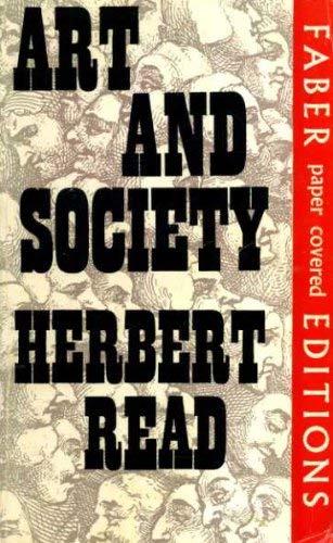 9780571081837: Art and Society