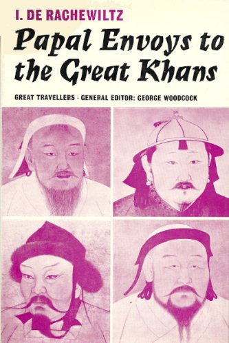 9780571082933: Papal Envoys to the Great Khans (Great Travellers)