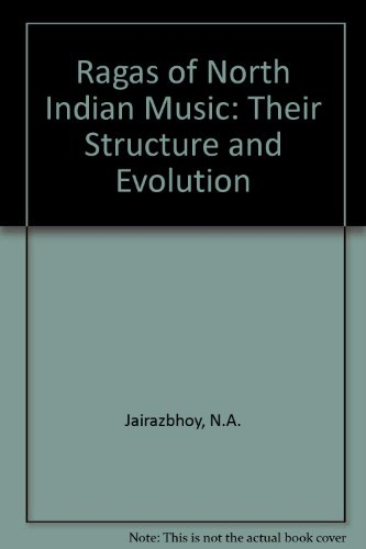 9780571083152: Ragas of North Indian Music: Their Structure and Evolution