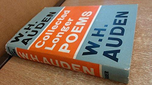 Collected Longer Poems: Auden, W. H