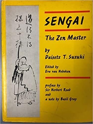Sengai, the Zen Master: Suzuki, Daisetz Teitaro