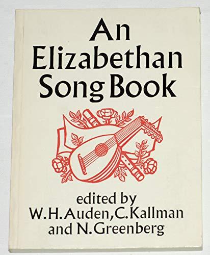 9780571086023: Elizabethan Song Book: Lute Songs