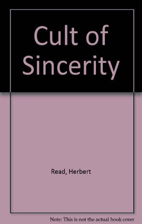 9780571087266: Cult of Sincerity