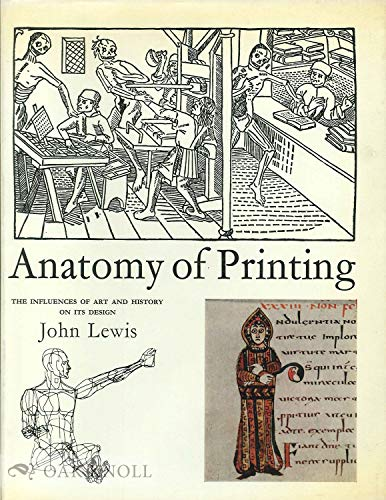 9780571087686: Anatomy of Printing: The Influences of Art and History on Its Design