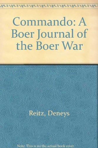 9780571087976: Commando: A Boer Journal of the Boer War