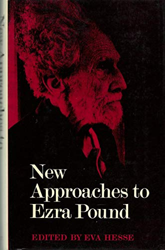 9780571088430: New Approaches to Ezra Pound