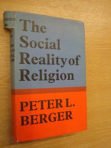 9780571088652: Social Reality of Religion