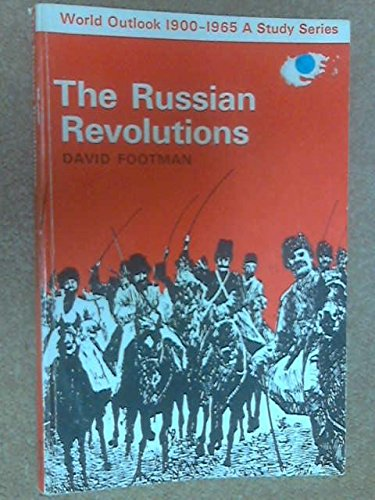 9780571088898: Russian Revolutions (Men & Events)