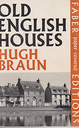 9780571089895: Old English Houses