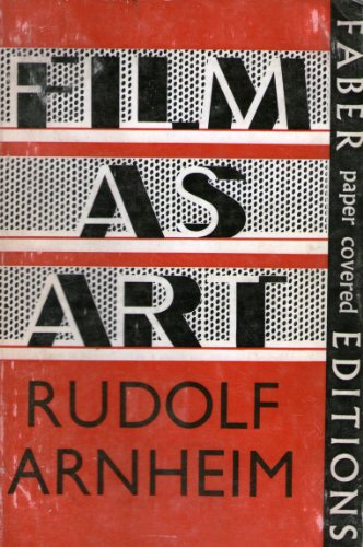 9780571090822: Film as Art (Faber paper covered editions)
