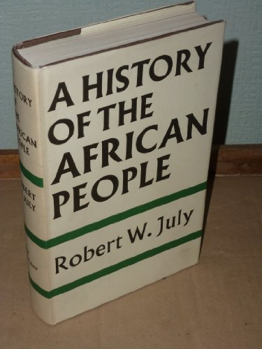 9780571091270: A History Of The African People