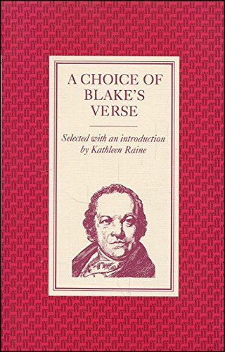 Choice of Verse: Blake, William