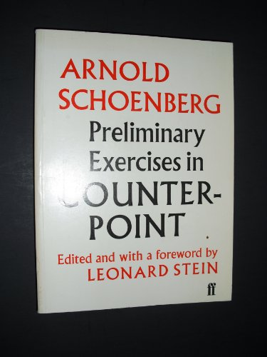 9780571092758: Preliminary Exercises in Counterpoint
