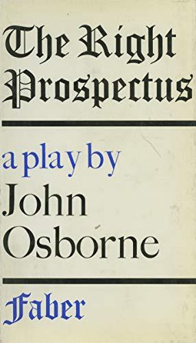 The Right Prospectus: Osborne, John