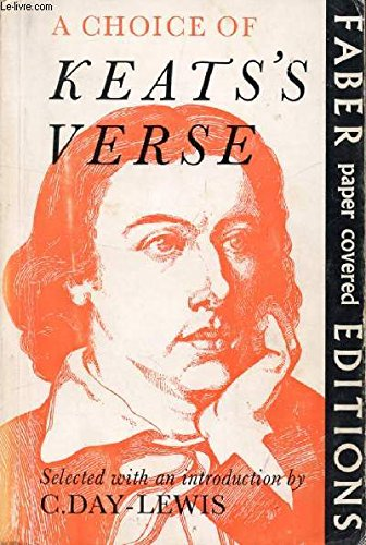 Choice of Verse: Keats, John