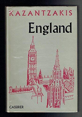 9780571095957: England: a travel journal,