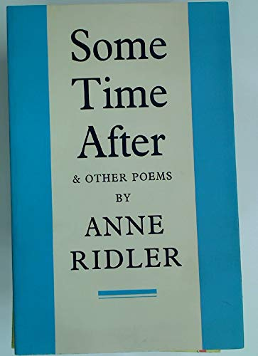 9780571097852: Some Time After and Other Poems