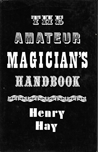 9780571097937: Amateur Magician's Handbook