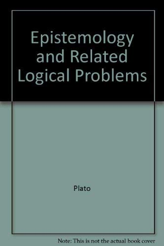 9780571099092: Epistemology and Related Logical Problems