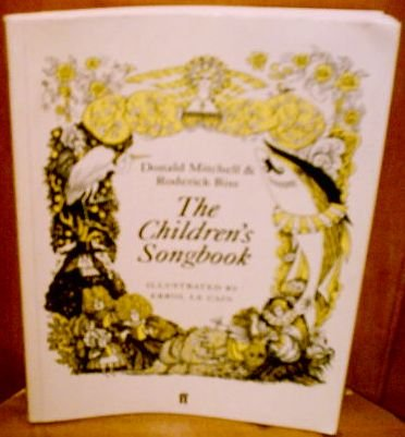 The Children's Songbook: Mitchell, Donald; Bliss,